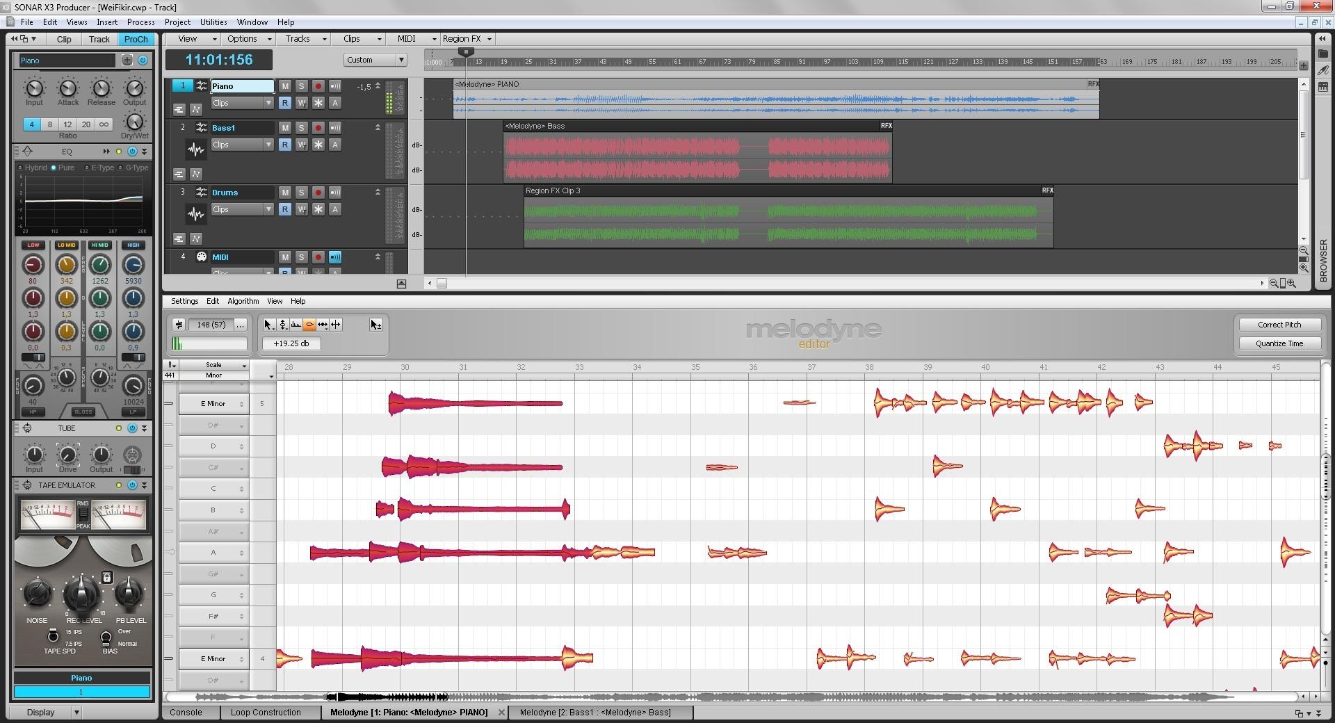 Seamless Integration of Melodyne into Cakewalk Sonar X3