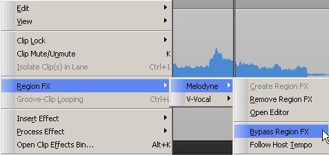 Melodyne editor 2 Online Manual | Melodyne in Cakewalk Sonar